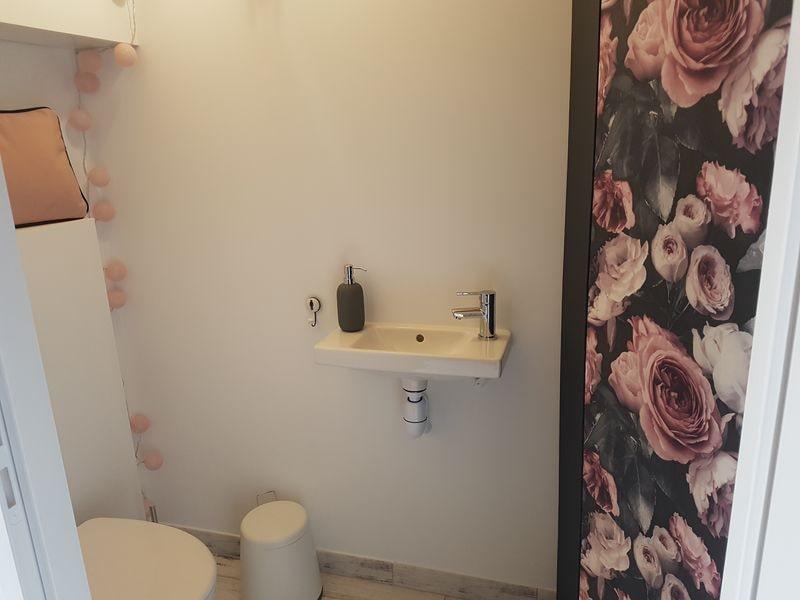 toilettes du gîte échappée romantique