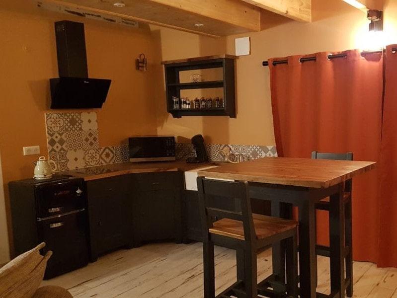 séjour cuisine moderne