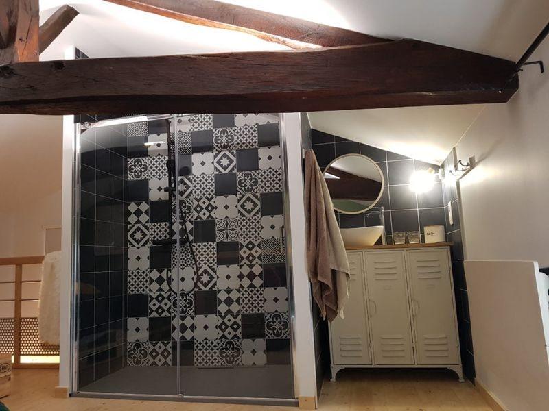 salle de bain douche colonne XL