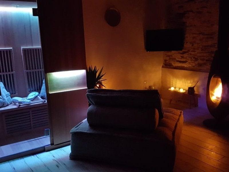 sauna 2 personnes chauffeuse deux places